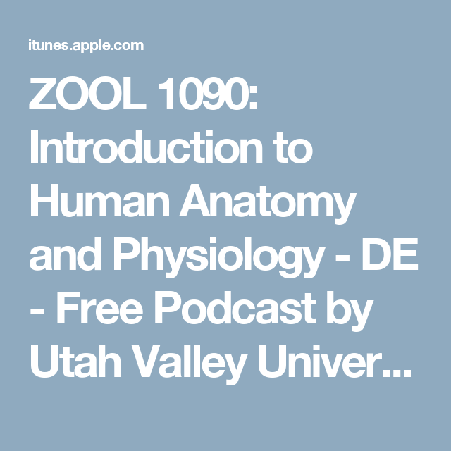 Zool 1090 Introduction To Human Anatomy And Physiology De Free
