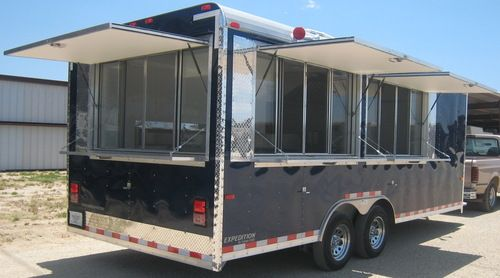 Custom concession trailers texas