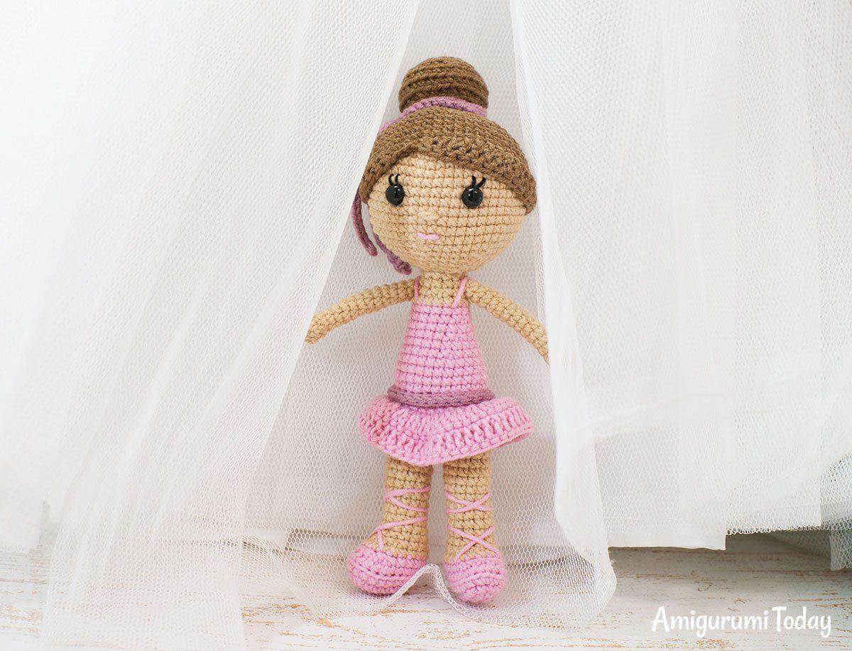 Ballerina doll amigurumi pattern | Patrón de ganchillo, Bailarines y ...