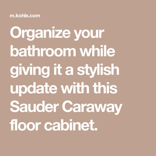 Sauder Caraway Bathroom Floor Cabinet Sauder Bathroom Floor Cabinets Flooring