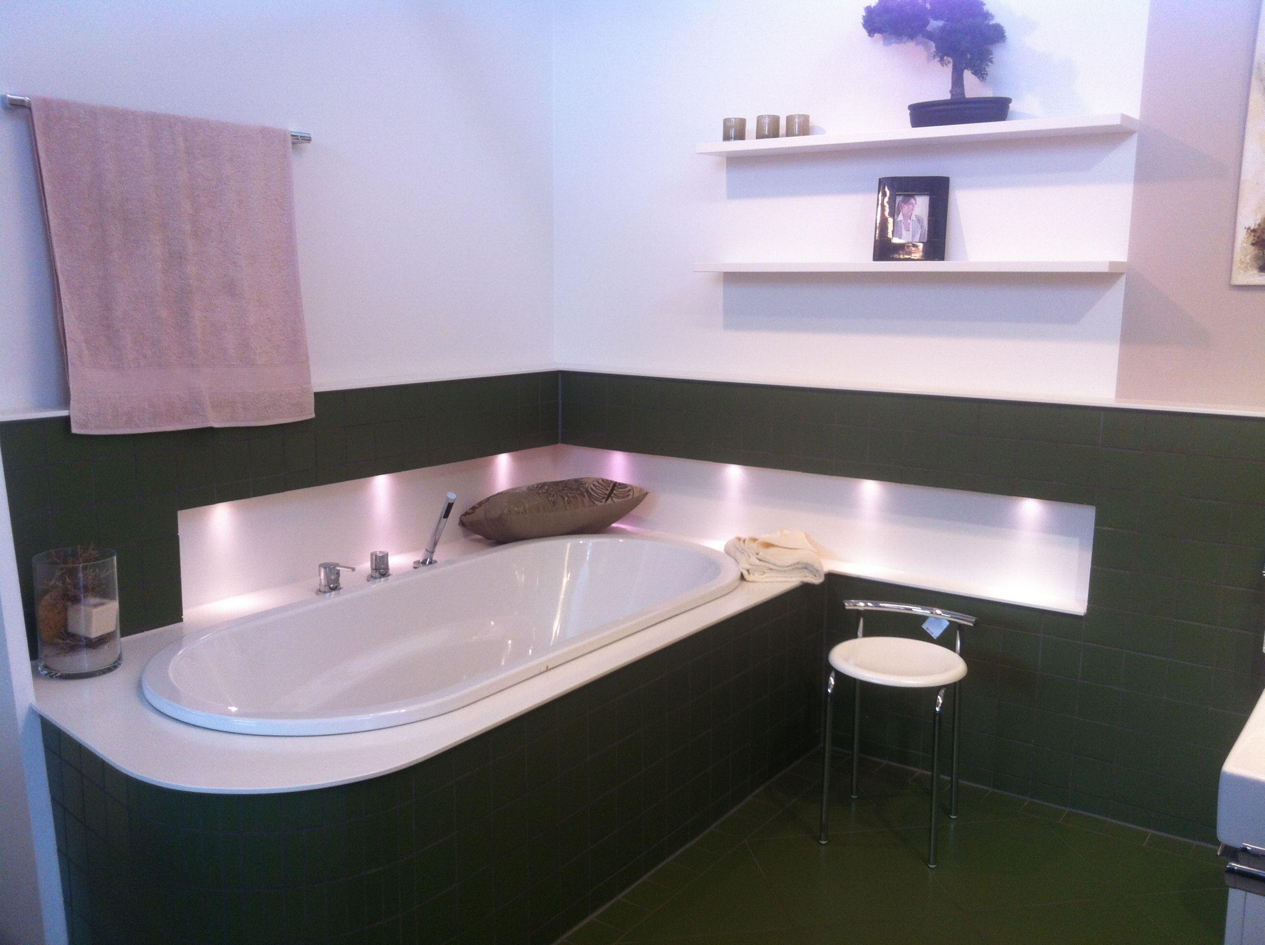 Badezimmer Badewanne ~ Beleuchtung bad nische über badewanne badezimmer