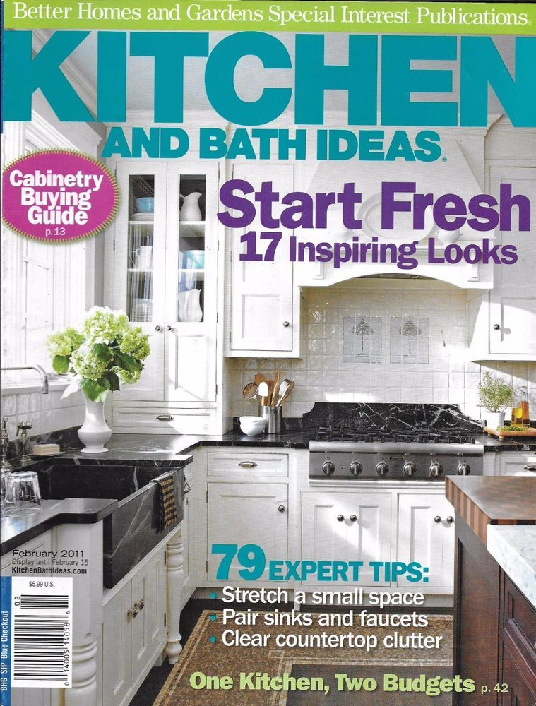 Kitchen And Bath Ideas Magazine Cabinetry Buying Guide Sinks Faucets Storage