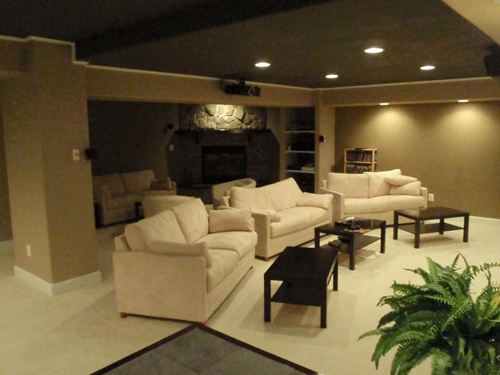 Showroom design contemporary home theater minneapolis by - Basement Projector Projectors Vs Tv Which One Should You Buy Remodel Pinterest Basements And House