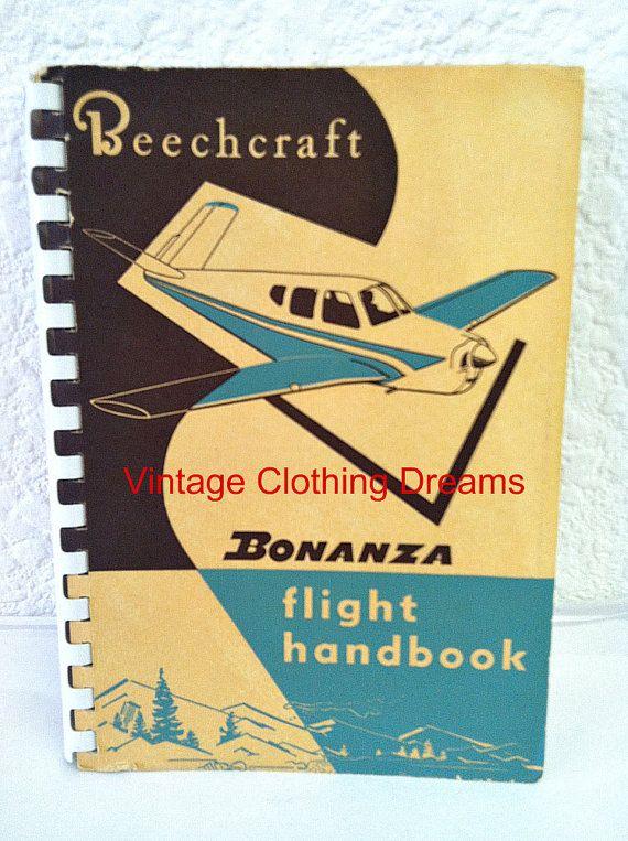 beechcraft bonanza h35 h 35 flight handbook 1956 beech aircraft rh pinterest com