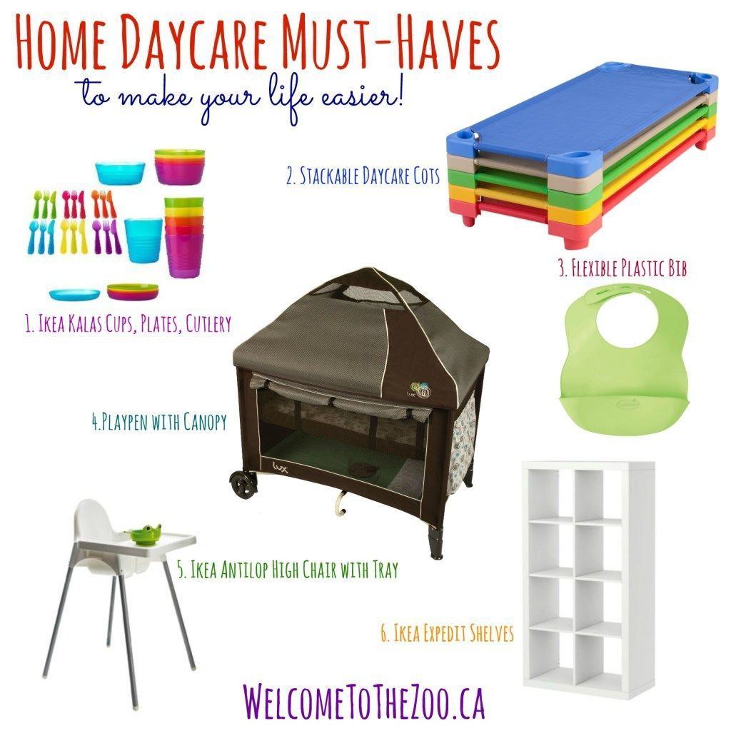 Daycare Must Haves | Setting Up A Daycare Business | Pinterest ...