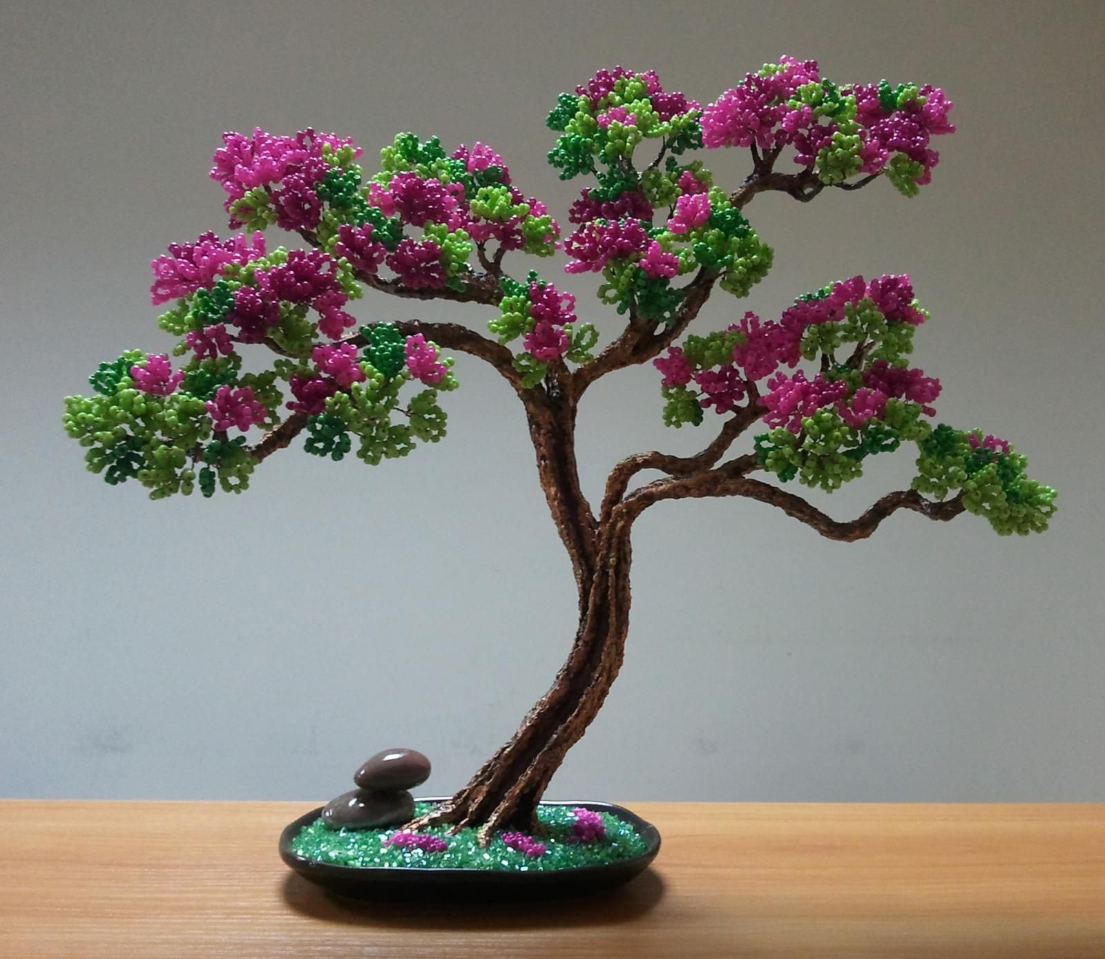 Blooming tree | biser.info - all about beads and beaded works ...