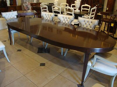 Barbara Barry Realized By Henredon Bowmont Dining Table NEW