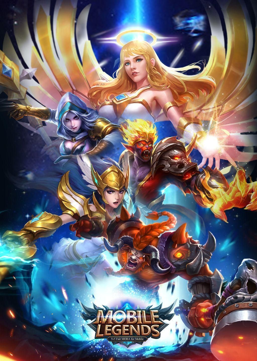 Mobile Legends Wallpapers Wallpaper Cave With Images Mobile
