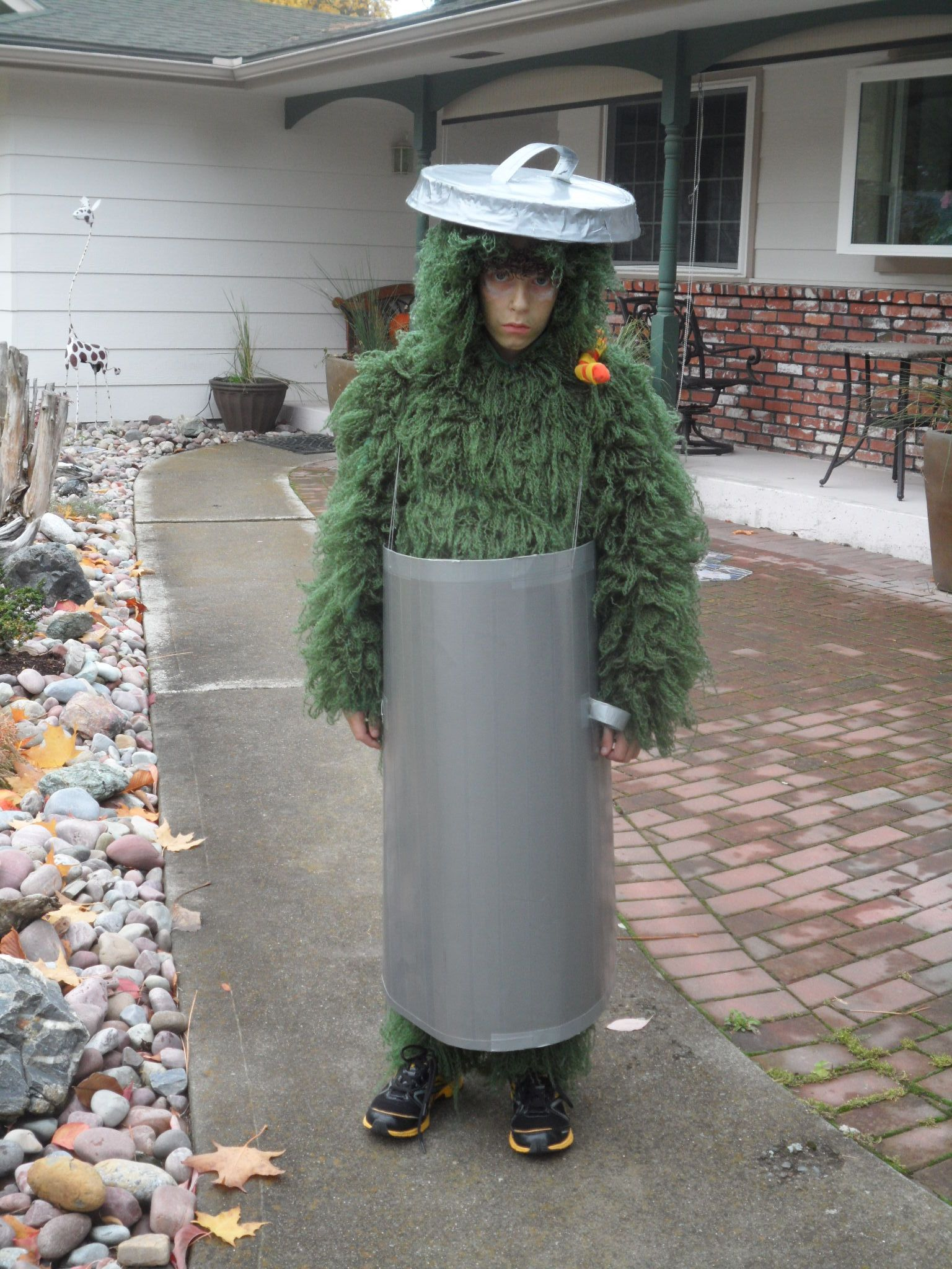 Oscar The Grouch Halloween Costume Sesame Street Costumes
