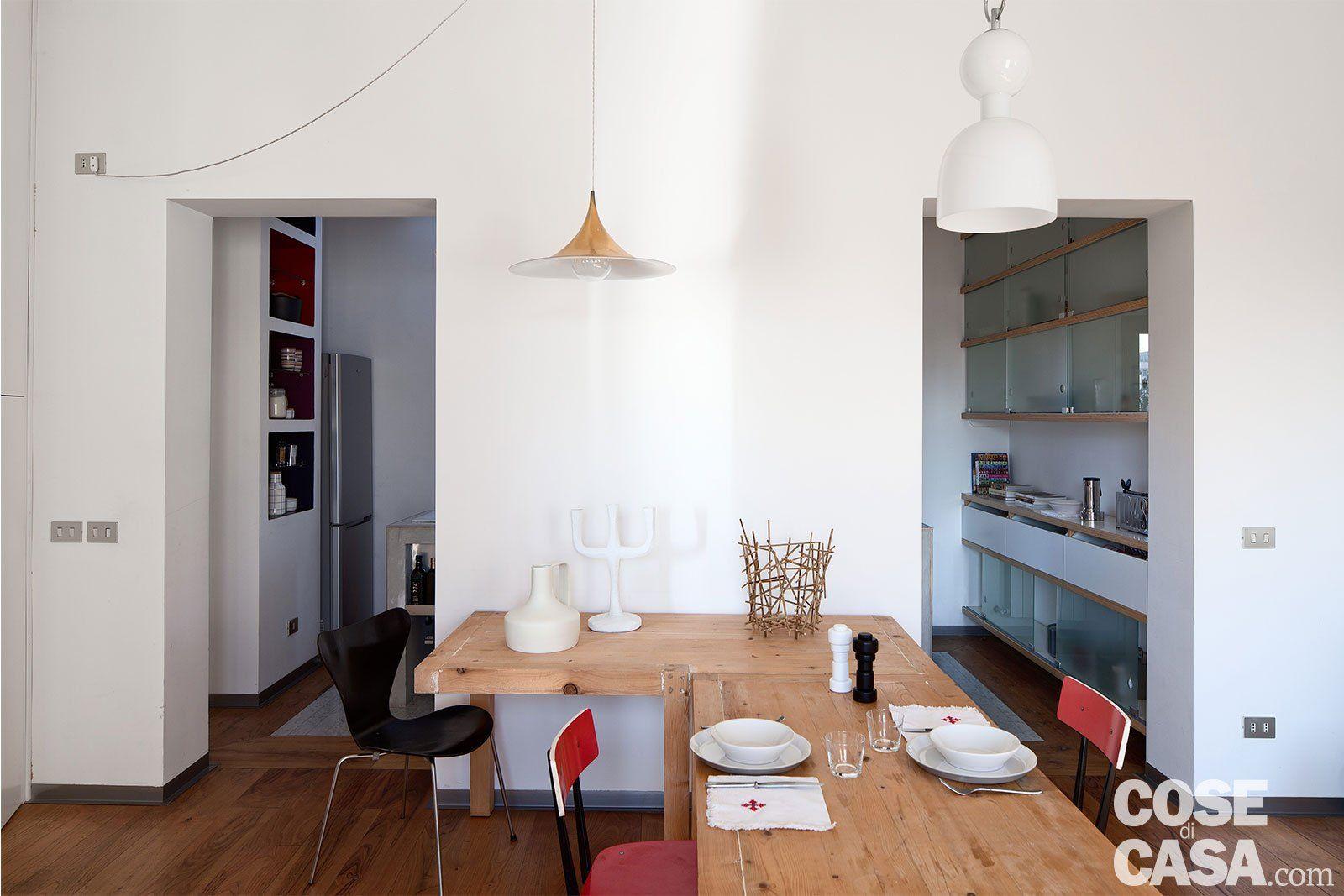 80 mq con pareti apribili che trasformano l'open space in ...