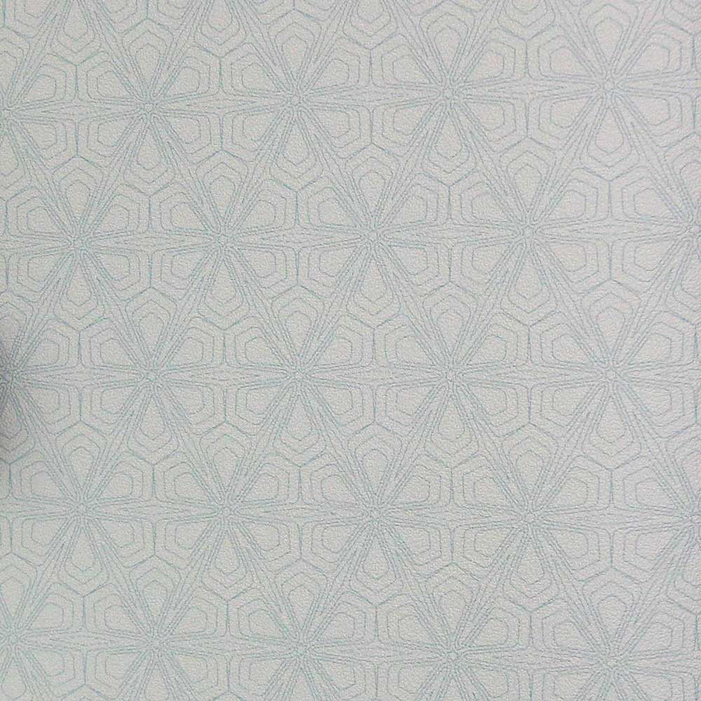 Sample White and Light Blue Geometric KR408 Wallpaper from the ...