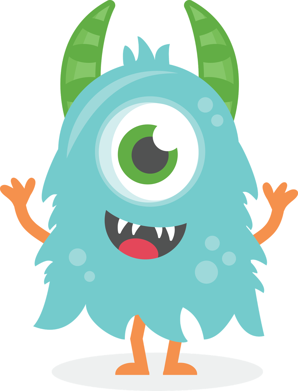 monster clipart cute pesquisa google monster monster
