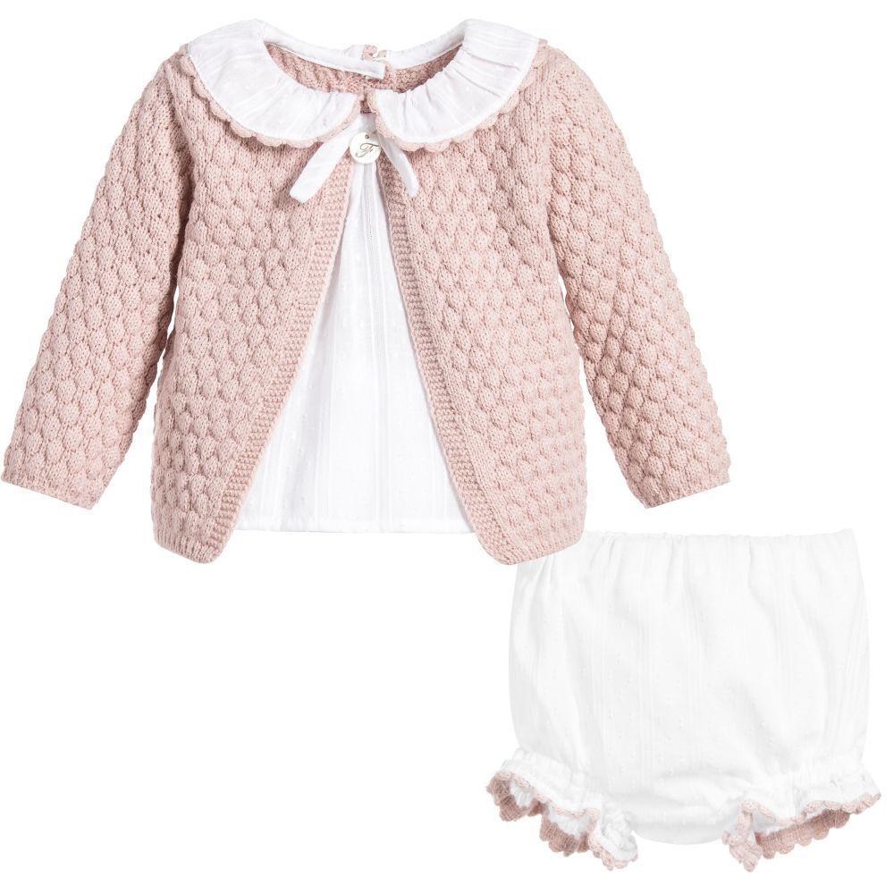 8ea552e89 Pink 2 Piece Baby Shorts Set
