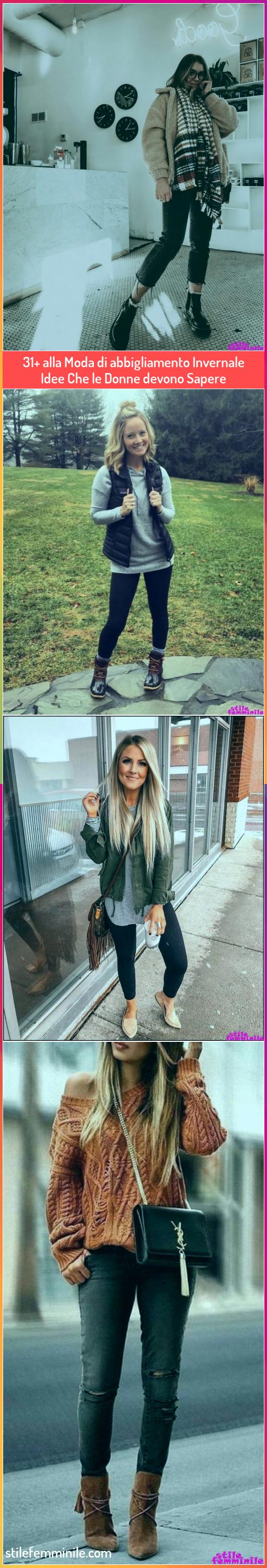 Photo of Super 31+ idee di abbigliamento invernale alla moda che le donne dovrebbero sapere …