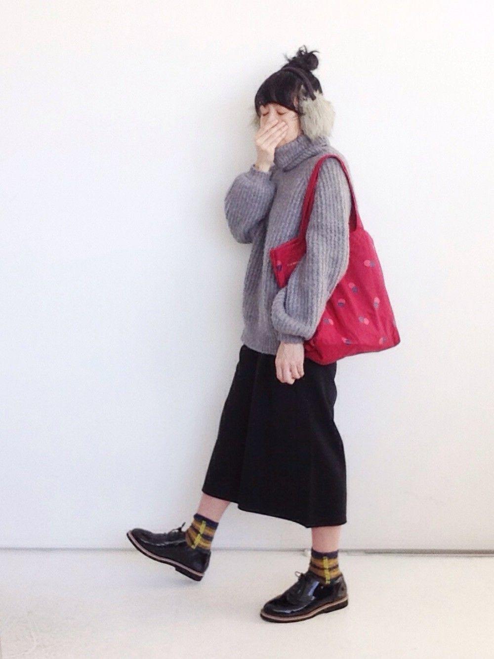 SACHI|靴下屋のソックス/靴下を使ったコーディネート