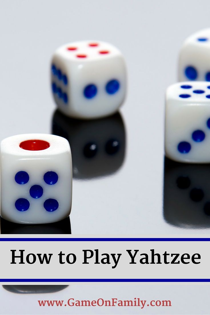 How to play yahtzee a classic board game games to
