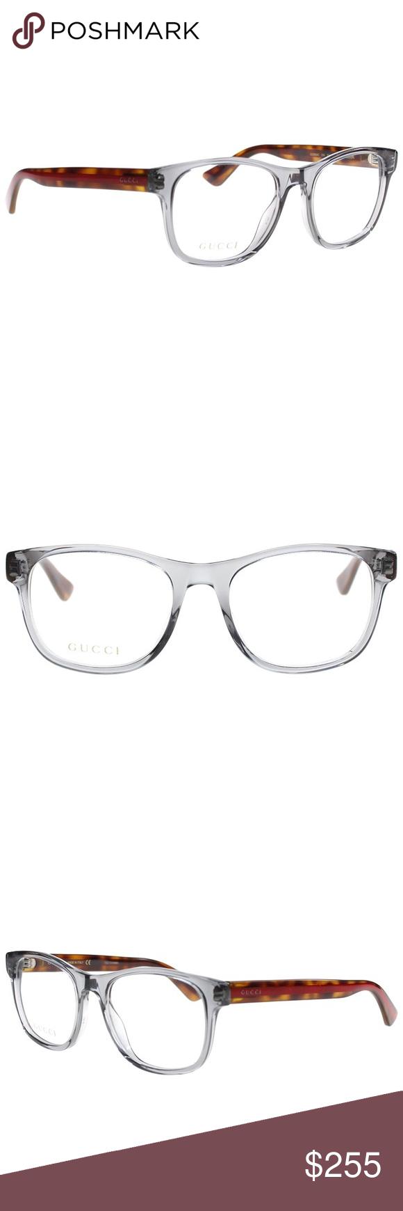 e7d6e52ca02a Gucci Eyeglasses 0004O Transparent grey Brand new Comes with Gucci case