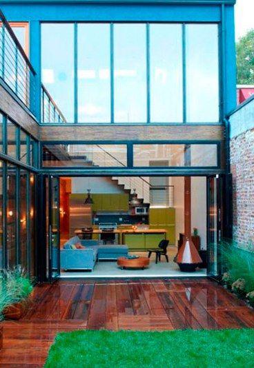 13 ideas para darle vida a tu patio interior Pinterest
