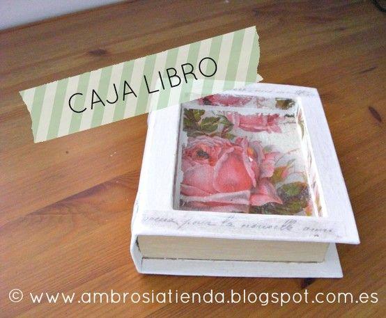 caja libro la tienda ambros a pinterest tiendas cajas y libros. Black Bedroom Furniture Sets. Home Design Ideas
