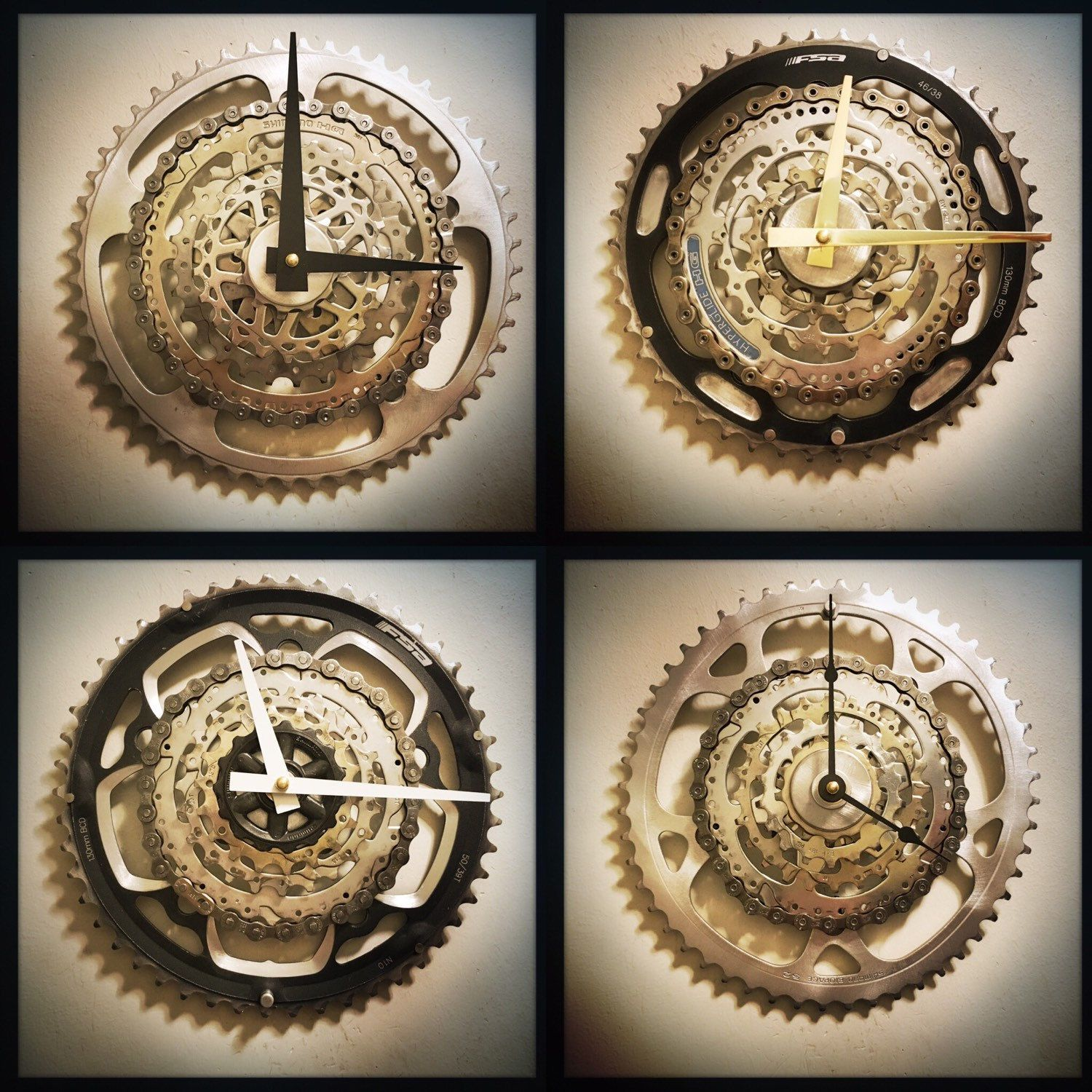 Steampunk wall clock cyclist gift mountain biker gift unique steampunk wall clock cyclist gift mountain biker gift unique wall clock industrial decor man cave gift unique housewarming gift amipublicfo Images