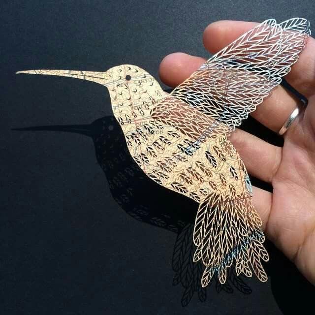 Maude Alta - delicate paper cut