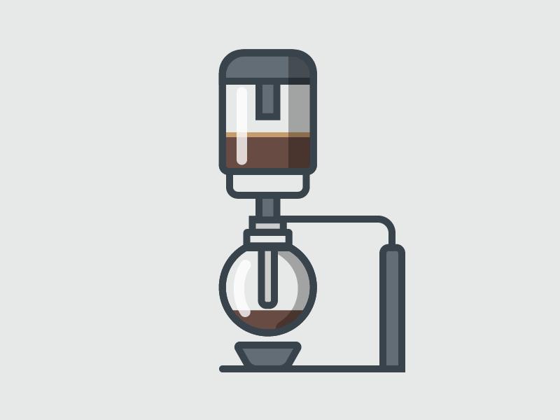 Coffee Siphon Siphon Coffee Coffee Cup Art Coffee Logo