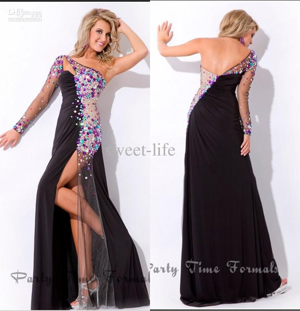 Prom dresses with sleeves evening dresses buy new sexy