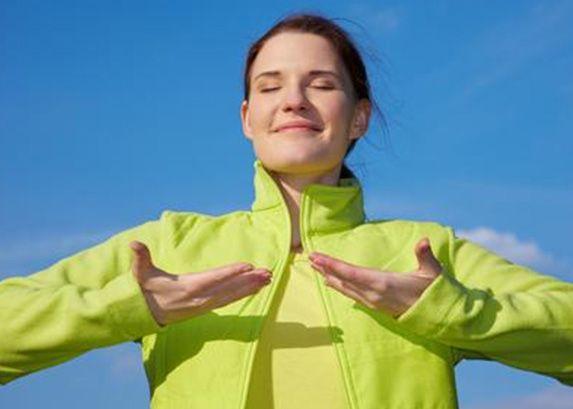 Z czasem, kiedy maluch rośnie nasza cierpliwość zostajemy wystawiona na ciężką próbę. Aby podreperować naszą psychikę polecam technikę oddychania.