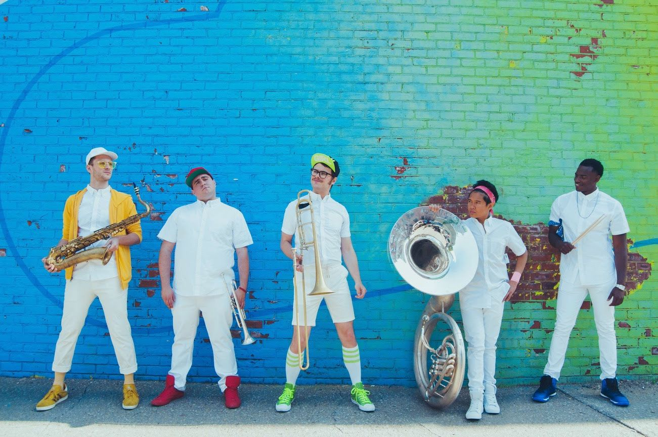 Lucky Chops Traveler New Single From Debut Album By Brass Led New York Group Withguitars Debut Album Funk Bands European Tour