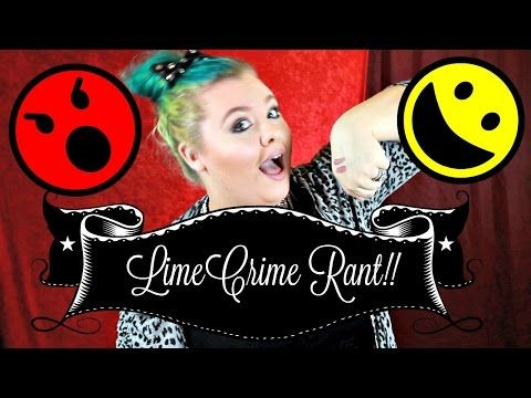 LIMECRIME RANT & CASHMERE DUPE - YouTube