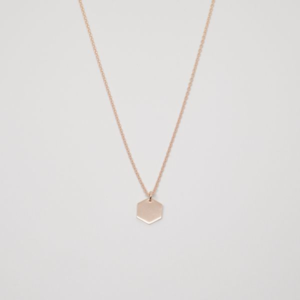 Photo of fejn jewelry Kette 'Hexagon'