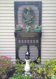 New screen door repurpose beautiful 45 ideas #sichtschutzpflanzen