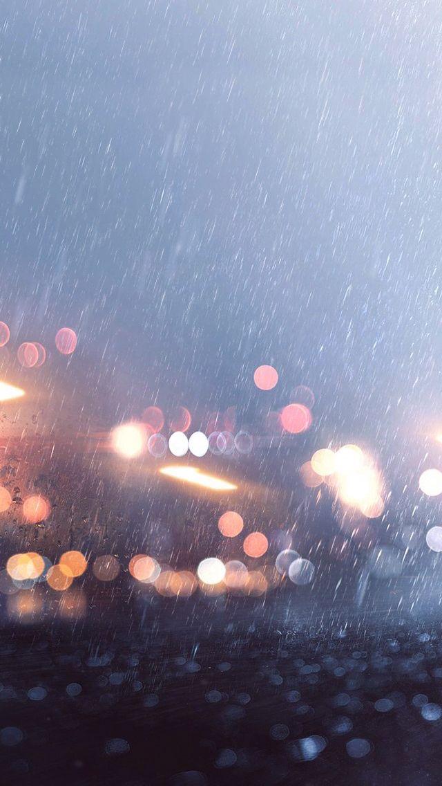 Beautiful Rainy Day IPhone Wallpaper