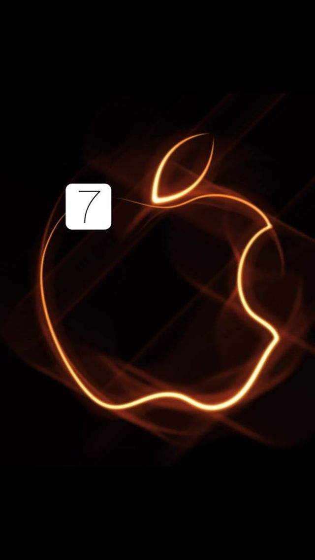 Waiting for the new iOS7! The iPhone 5 Wallpaper I