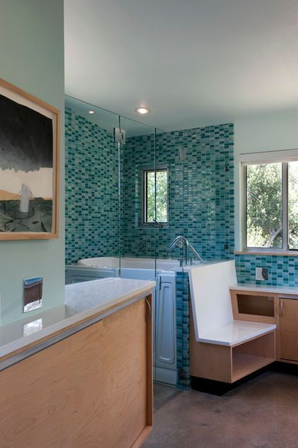 safe walk-in bathtubs don't have to be ugly! this austin home