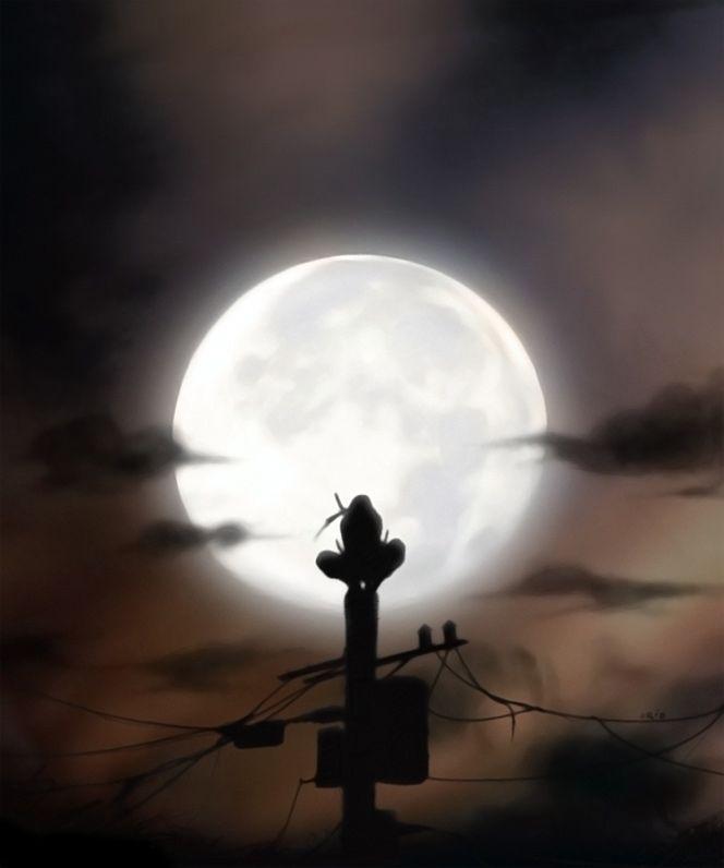 Itachi Itachi Uchiha Art Samurai Anime Anime Naruto Blood moon itachi moon wallpaper