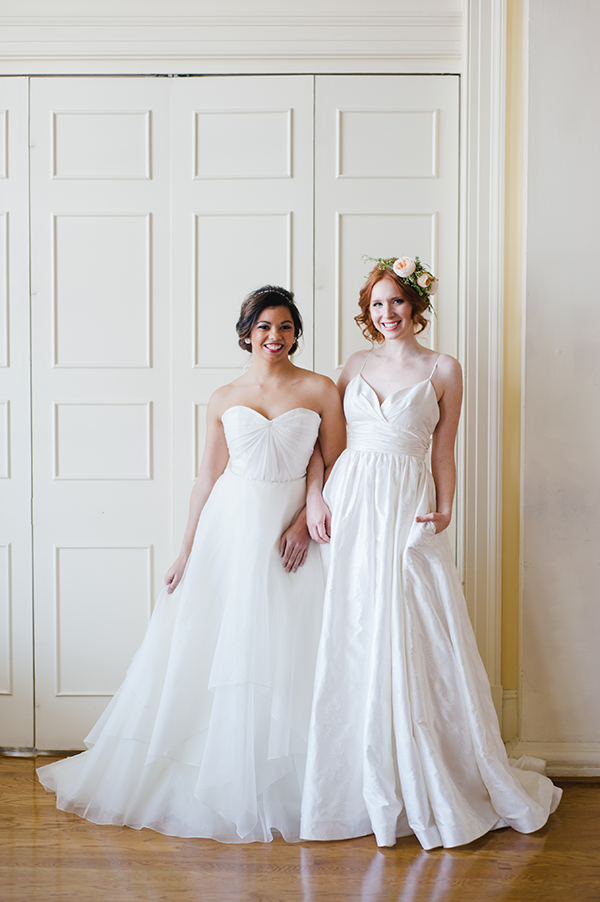 Gowns Luminous + Charming | Astrid & Mercedes Photoshoot featured on ...