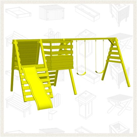 Build a Playset - Free Project Plan This playset calls for a - project plan