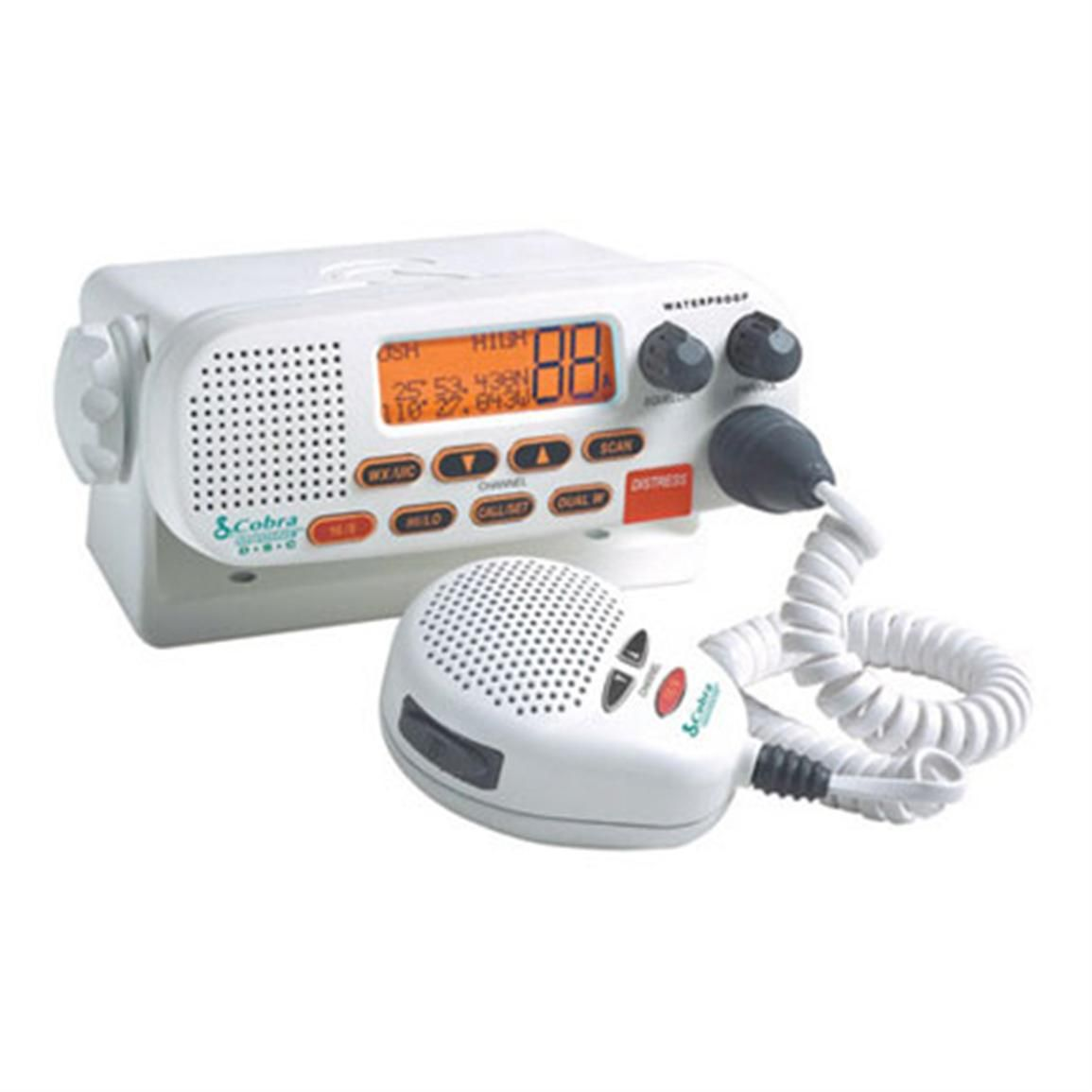 Cobra Marine Mrf45 Vhf Radio Radio Cobra Marine Electronics