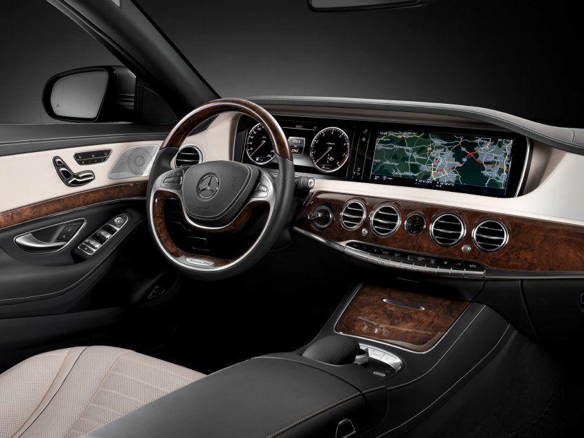 Mercedes S 400 Hybrid im Test: Stressfrei auf der Straße | Autos ... | {Auto cockpit straße 33}