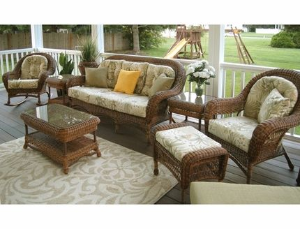 Empire Resin Wicker Patio Furniture Set