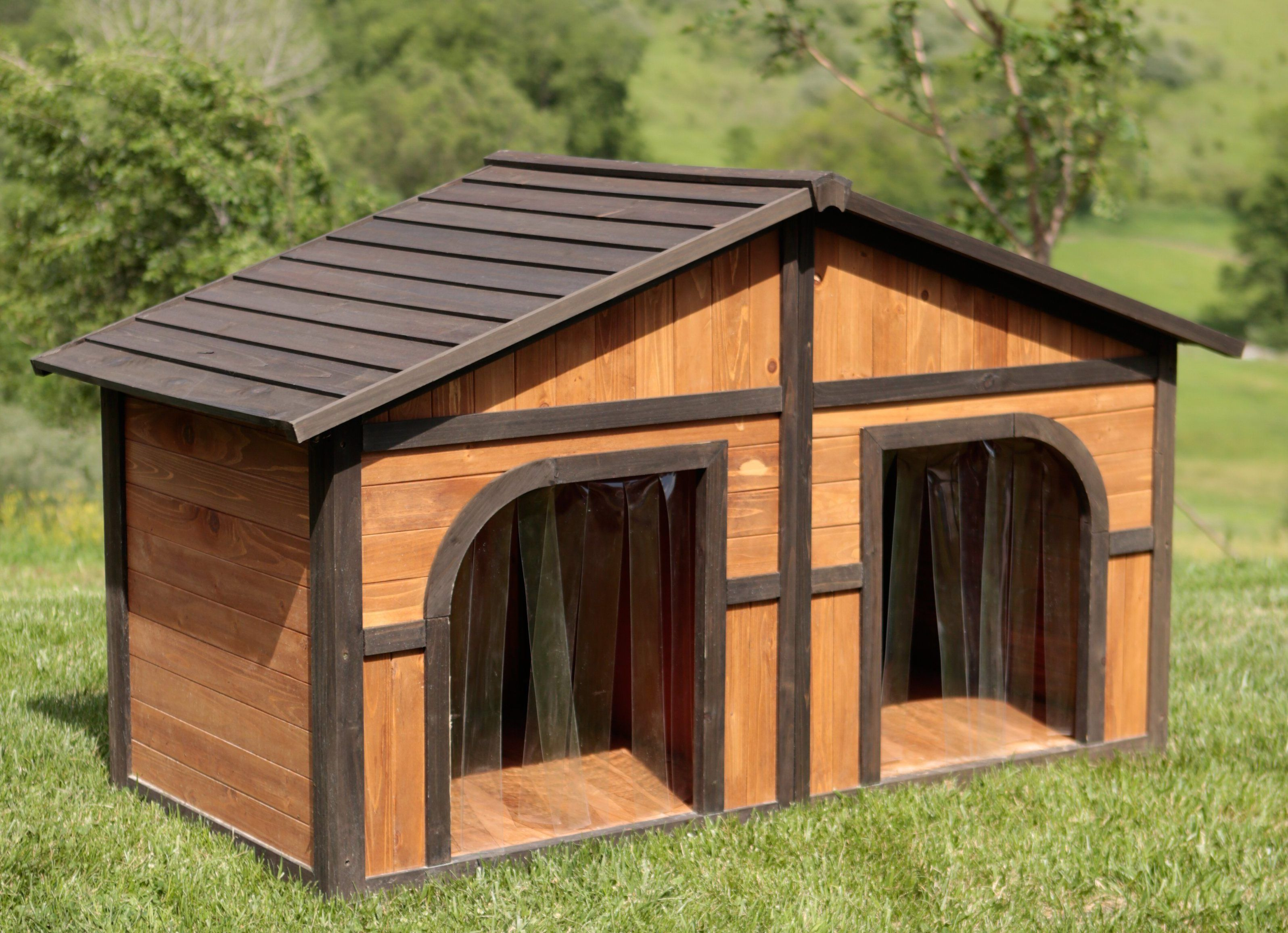10 Simple But Beautiful Diy Dog House Designs That You Can Do Easily Dog House Plans Dog House Diy Outdoor Dog House Large outdoor dog house ideas