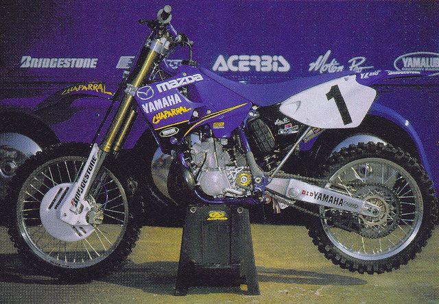 1999 Mazda Chapappal Yamaha YZ250 of Jeremy McGrath | hell
