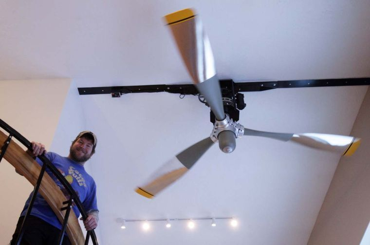 Nov 17 23 Propeller Ceiling Fan Ceiling Fan Ceiling Fan With