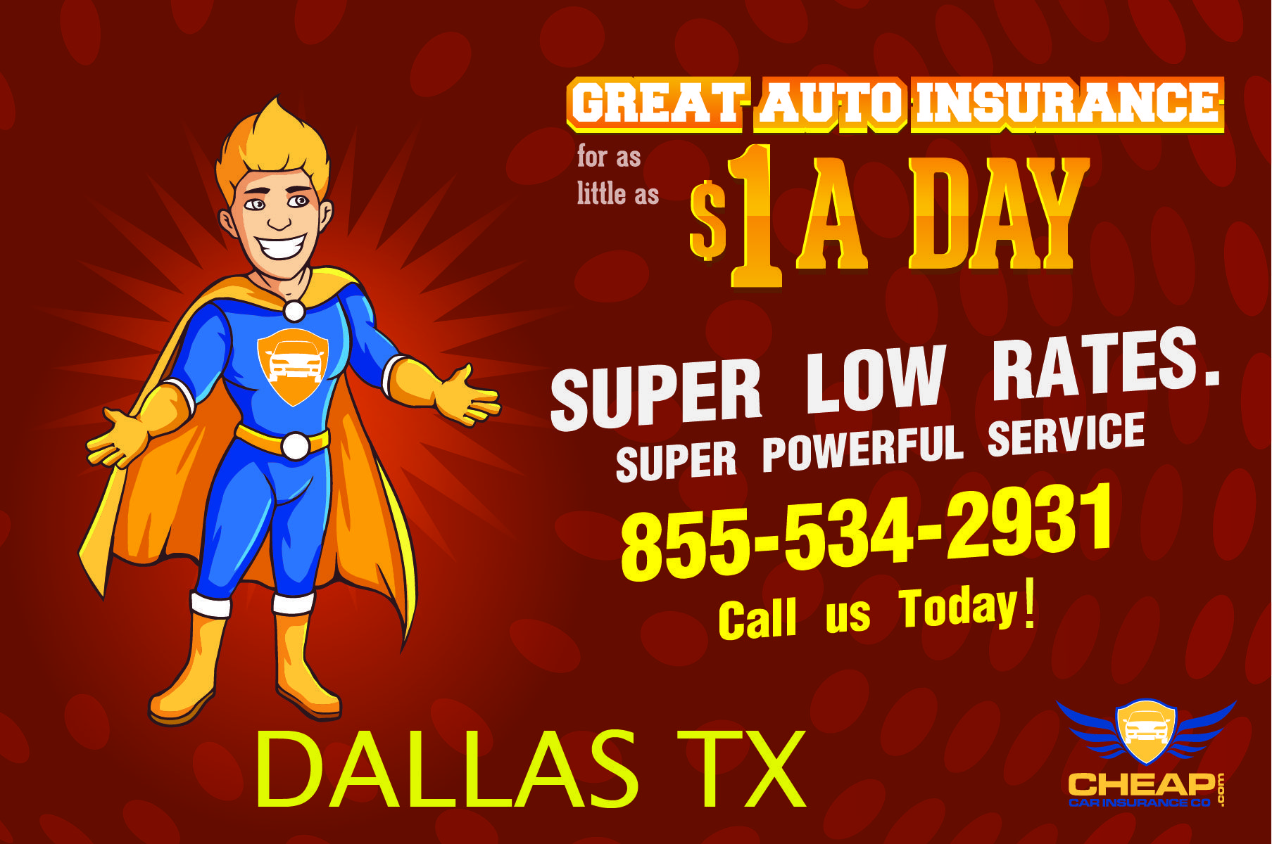 Cheap Car Insurance Dallas Texas . 50 discounts on all