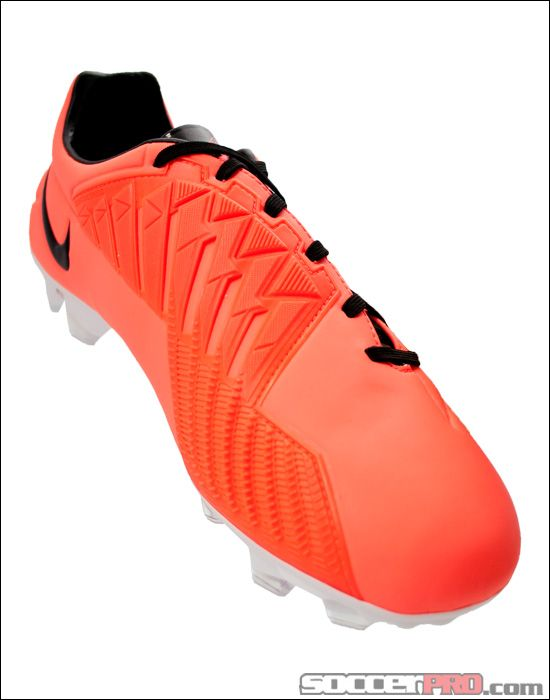 Nike T90 Laser IV FG Soccer Cleats - Bright Mango with Black... 188.99 e0f290369f8cd
