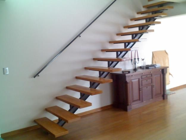 Escalera recta buscar con google escaleras pinterest for Escaleras minimalistas interiores