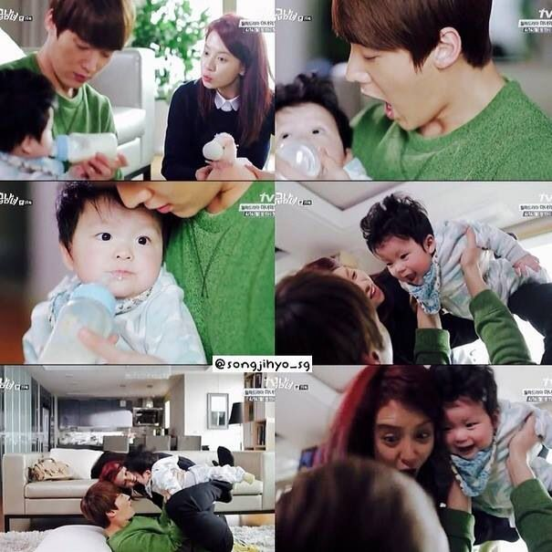 baby gook emergency couple this scene was so adorable i had to replay it korean dramas. Black Bedroom Furniture Sets. Home Design Ideas