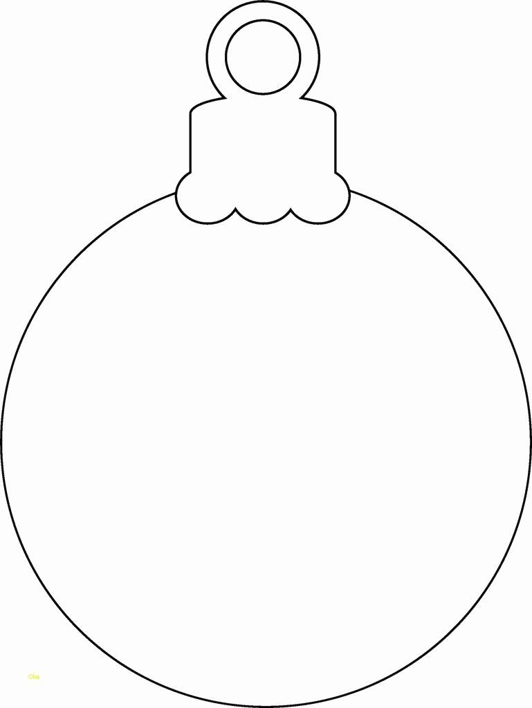 Christmas Bulb Coloring Pages New Christmas Light Bulb Template