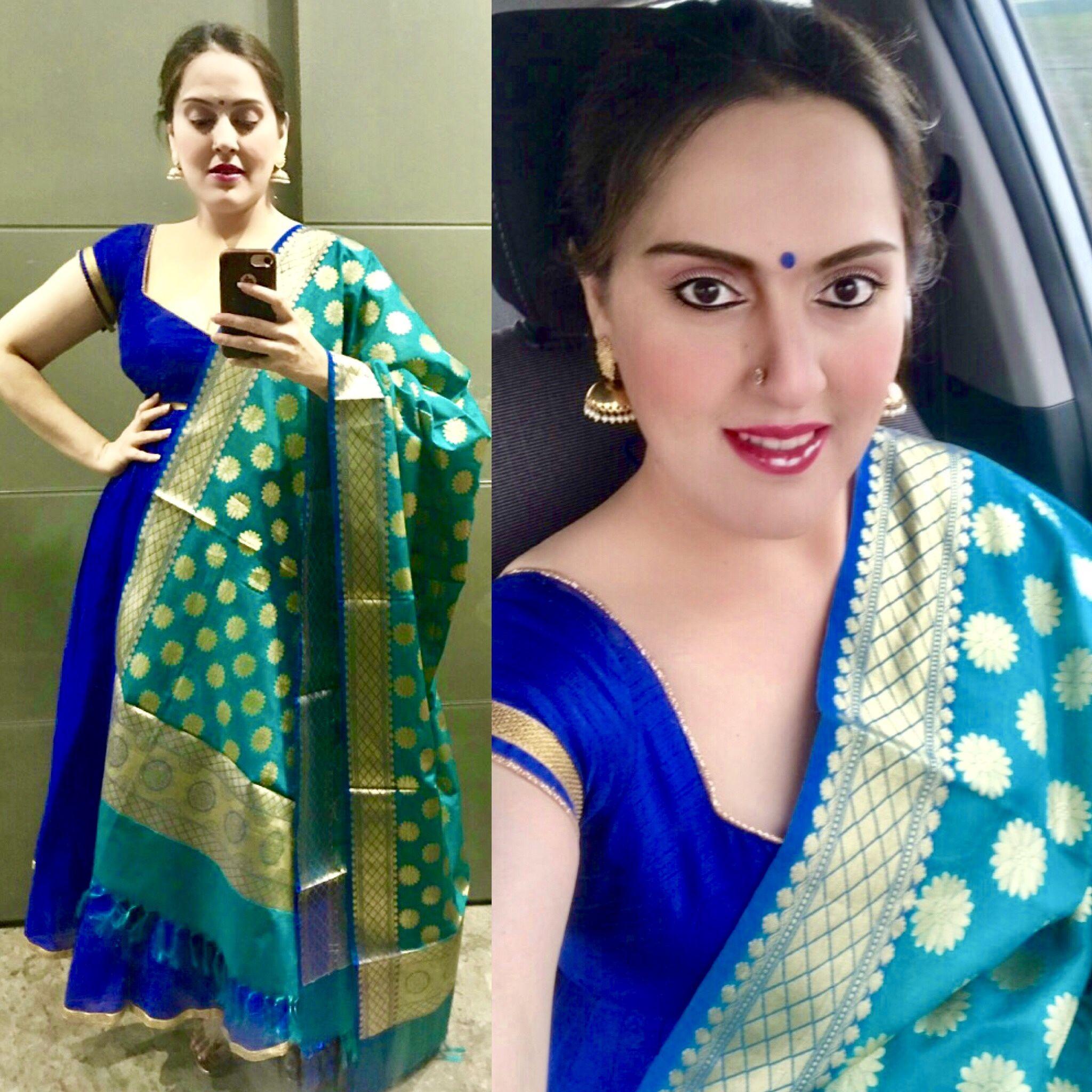 Nandini By Niti J Kundu Fashion Blouse Designs Saree Dress